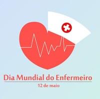 12 de Maio é Dia do Enfermeiro.