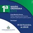 1ª Sessão Ordinária de 2019