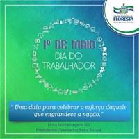 1° DE MAIO - DIA DO TRABALHADOR