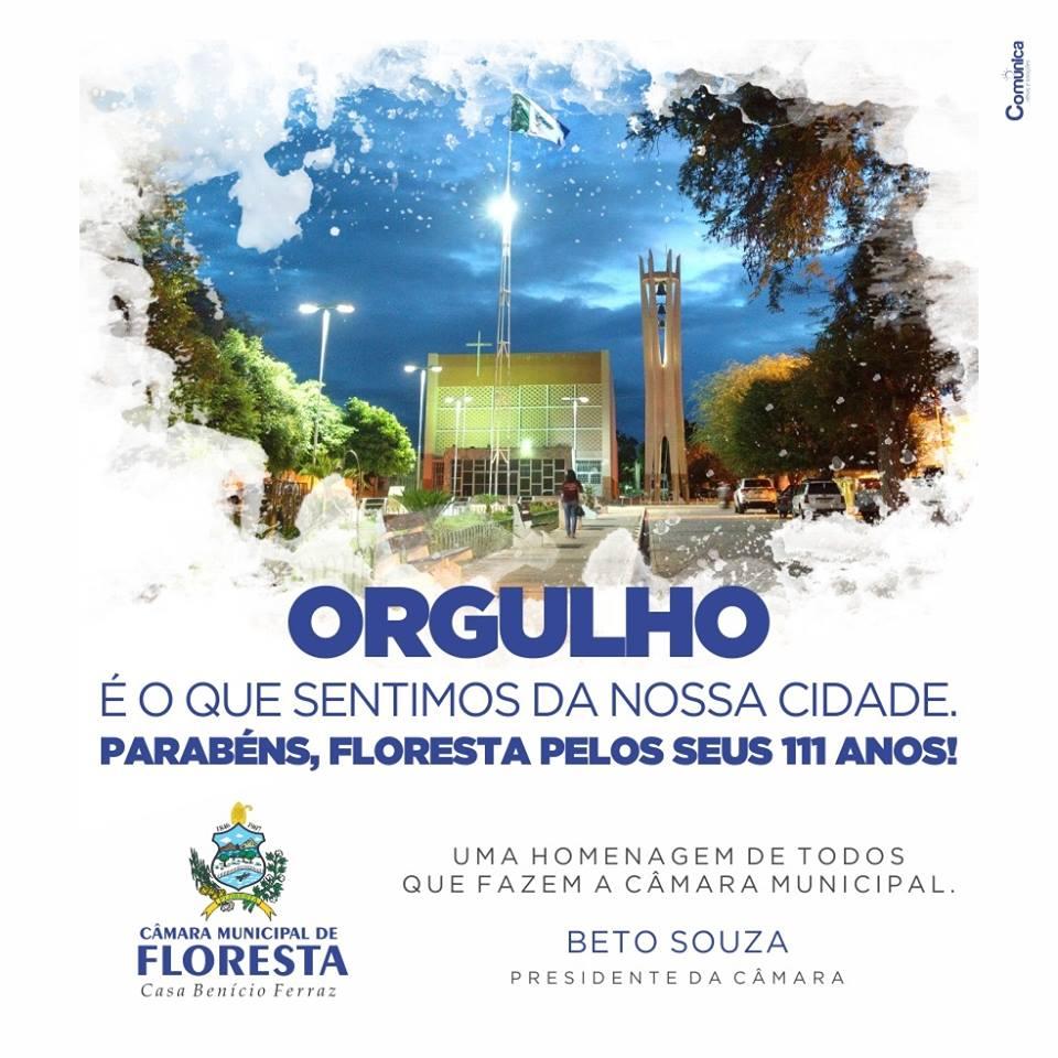 20 de Junho - 111 DE ANOS DE FLORESTA