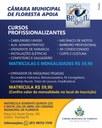 A Câmara Municipal de Floresta apoia cursos profissionalizantes