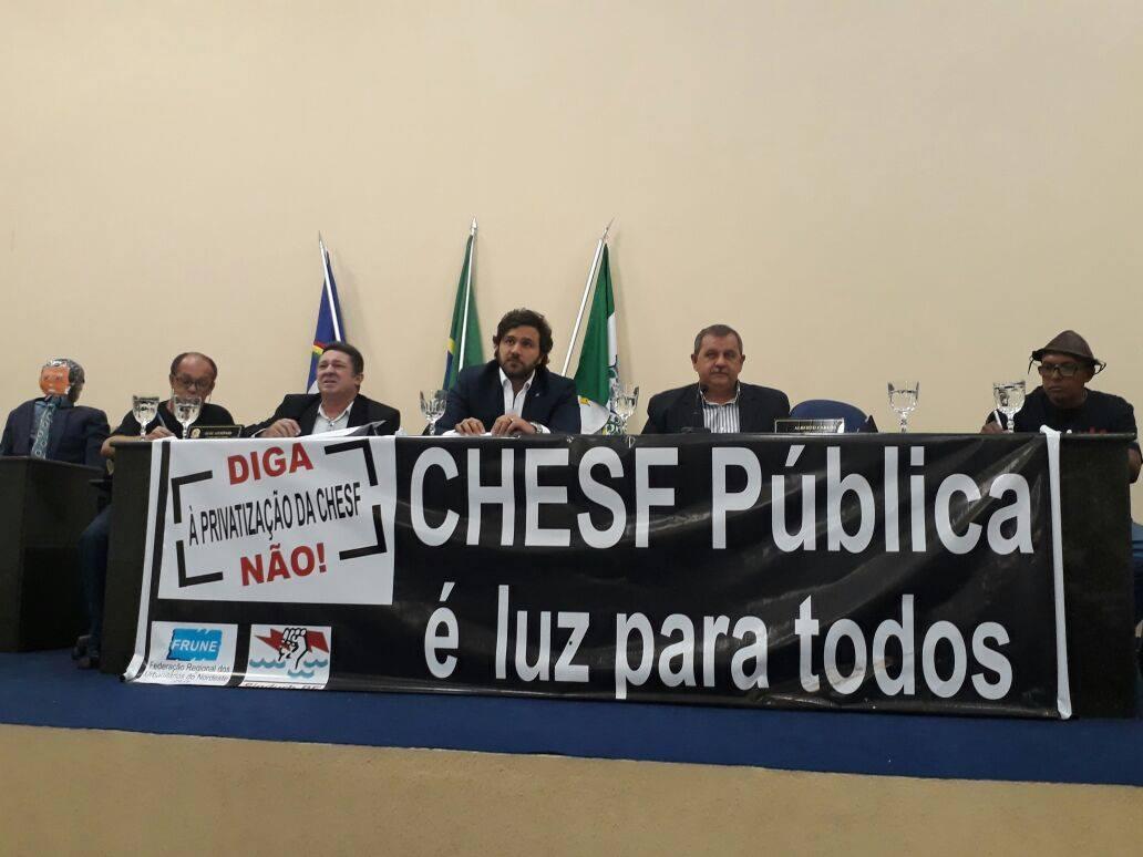 Audiência Pública cobra debate do Governo Federal sobre privatização da Eletrobrás