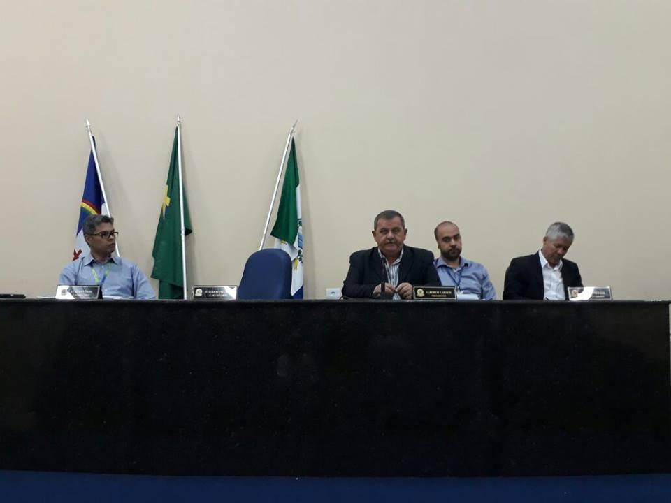 Audiência pública resulta na formação de comissão para cobrar perenização do Riacho do Navio