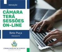 Câmara de Vereadores de Floresta terá sessões on-line