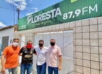 Câmara estreia participação semanal no Programa FLORESTA EM FOCO da Rádio Floresta (87,9 FM)