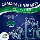 Nazaré do Pico recebe hoje Câmara Itinerante, em alusão aos 100 anos do distrito