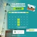 Câmara Municipal de Floresta divulga calendário das Sessões Ordinárias para o mês de maio de 2021