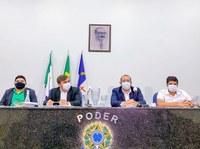 Câmara realiza 1ª e 2ª Sessões Extraordinárias para deliberação de Projeto de Lei de autoria do Executivo