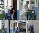Casa Benício Ferraz adquire totens de álcool em gel