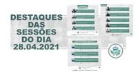 Confira o resumo das 18ª e 19ª Sessões Ordinárias da Casa Benício Ferraz.