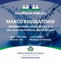 Convite para Audiência Pública