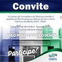 CONVITE PARA ELEIÇÃO DA MESA DIRETORA - BIÊNIO 2019-2020