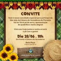 CONVITE - São João da Câmara de Vereadores