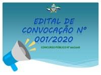 EDITAL DE CONVOCAÇÃO N° 001/2020