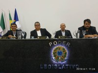 Legislativo de Floresta se reúne em Sessão Ordinária