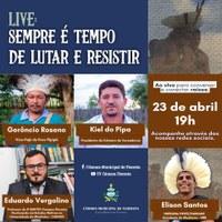 LIVE: SEMPRE É TEMPO DE LUTAR E RESISTIR