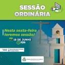 NESTA SEXTA-FEIRA TEREMOS SESSÃO!