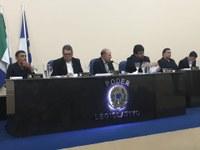Nova Mesa Diretora realiza primeira Sessão Ordinária