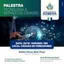 PALESTRA: TECNOLOGIA A SERVIÇO DO CIDADÃO
