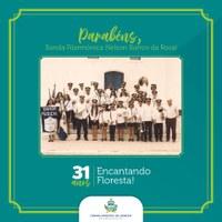 Parabéns, Banda Filarmônica Nelson Barros da Rosa!