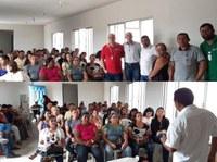 Presidente do Legislativo participa de reunião em busca de melhorias para os produtores rurais de Floresta⠀
