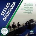 Sessão Ordinária - dia 11 de outubro