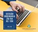 SESSÃO ORDINÁRIA ONLINE
