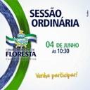SESSÃO ORDINÁRIA - PARTICIPE!
