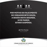 SESSÃO SUSPENSA