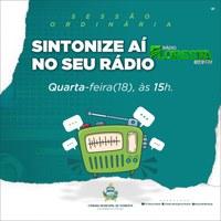 Sessões Ordinárias da Câmara Municipal de Floresta serão transmitidas pela Rádio Floresta FM