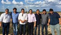 Vereadores de Floresta visitam barragem da Barra do Juá