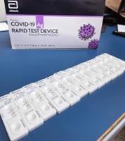Vereadores e servidores(as) da Câmara passam por testagem para Covid-19