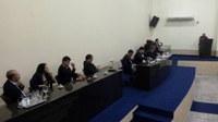 Vereadores se reúnem na 21ª Sessão, na Câmara Municipal de Floresta
